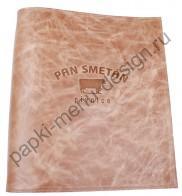 Кожаная папка меню из дизайнерской кожи  (Арт. К - 55)
