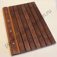 Папка из дерева с натуральной кожей (Д-13)